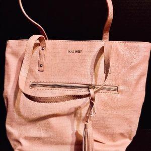 🎀 Nine West Large Pink Blush Bag NWOT
